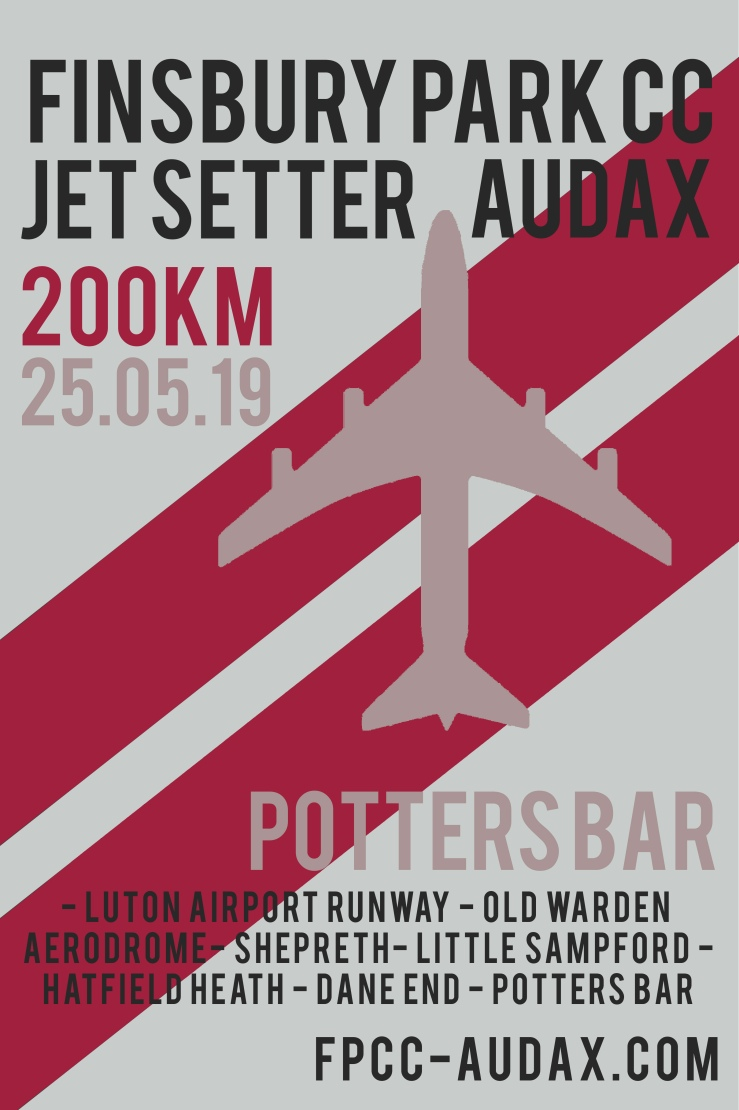 audax poster
